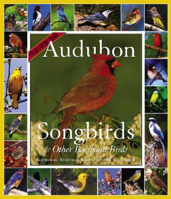 Audubon 365 Songbirds and Other Backyard Birds Picture-A-Day Calendar 2007 Cover Image