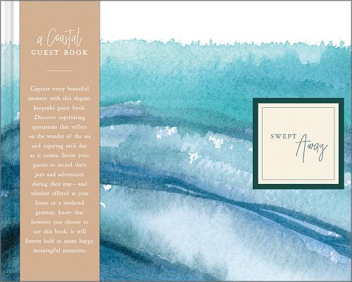 Swept Away: A Coastal Guest Book Cover Image