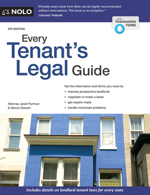 Every Tenant's Legal Guide Cover Image