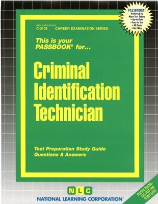 Criminal Identification Technician Test Preparation Study