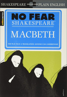 Macbeth (Sparknotes No Fear Shakespeare) Cover Image