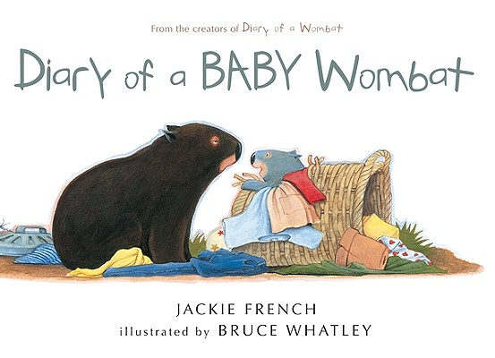 Diary of a Baby Wombat Cover