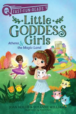 Athena & the Magic Land: Little Goddess Girls 1 (QUIX) Cover Image