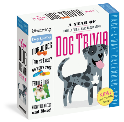 A Year of Dog Trivia Page-A-Day Calendar 2021 Cover Image