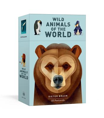 Wild Animals of the World: 50 Postcards Cover Image