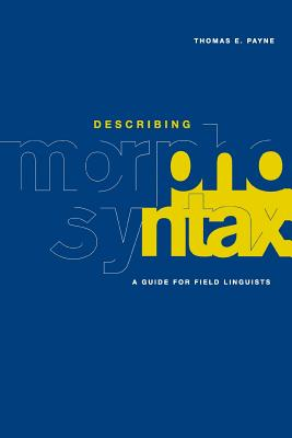 Describing Morphosyntax Cover