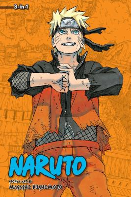 Naruto (3-in-1 Edition), Vol. 22 cover image
