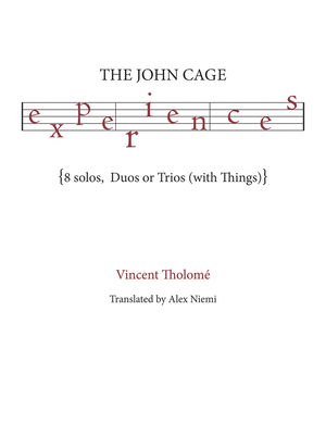 Cover for The John Cage Experiences