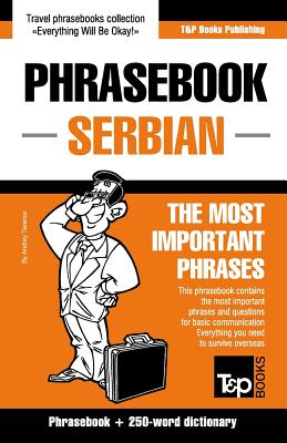 English-Serbian phrasebook and 250-word mini dictionary Cover Image