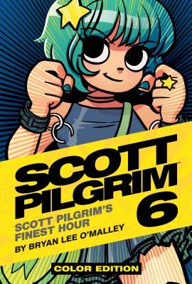 Cover to Scott Pilgrim 6, Ramona Flowers, fists up