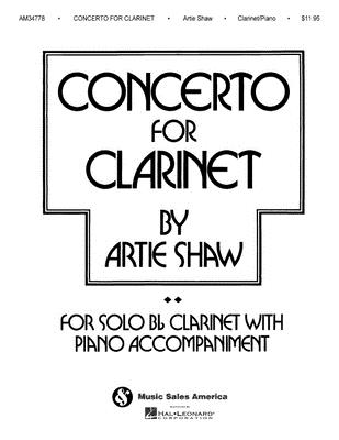 Artie Shaw - Concerto for Clarinet Cover Image