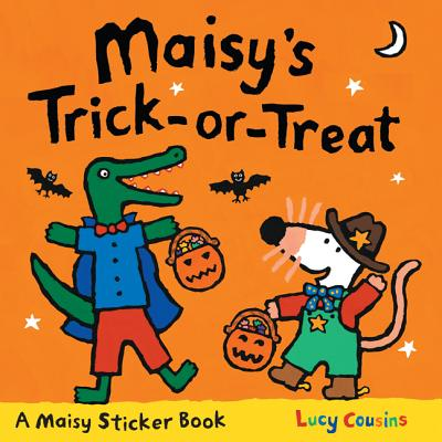 Maisy's Trick-Or-Treat Sticker Book Cover