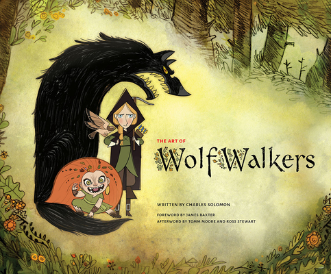 The Art of WolfWalkers Cover Image