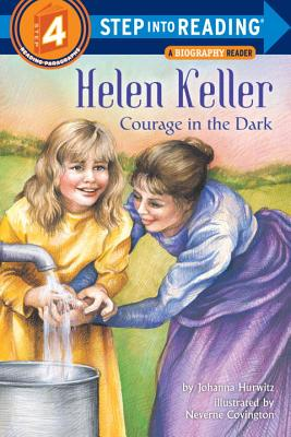 Helen Keller: Courage in the Dark (Step into Reading) Cover Image