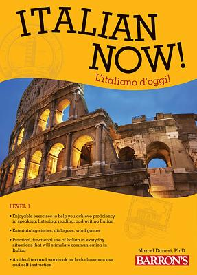 Cover for Italian Now! Level 1