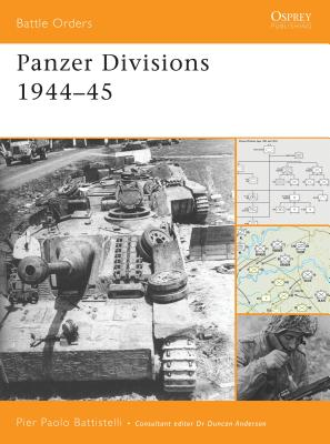 Panzer Divisions 1944-45 Cover