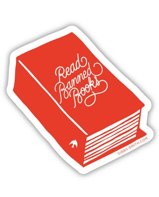 Read Banned Books (Book) (Sticker) Cover Image