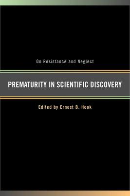 Cover for Prematurity in Scientific Discovery