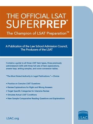 The Official LSAT Superprep: The Champion of LSAT Prep Cover Image