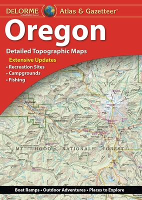 Delorme Atlas & Gazetteer: Oregon Cover Image