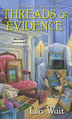 Threads of Evidence (A Mainely Needlepoint Mystery #2) Cover Image