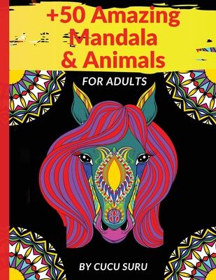 50 Amazing Mandala & Animals Cover Image