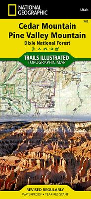 Cedar City, Markagunt Plateau (National Geographic Trails Illustrated Map #702) Cover Image
