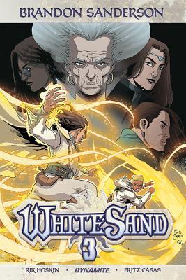 Brandon Sanderson's White Sand Volume 3 Cover Image