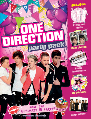 One Direction Party Pack: Host the Ultimate 1d Party! [With Sticker(s) and Poster] Cover Image
