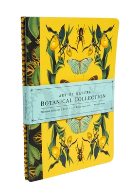 Art of Nature: Botanical Sewn Notebook Collection (Set of 3) Cover Image
