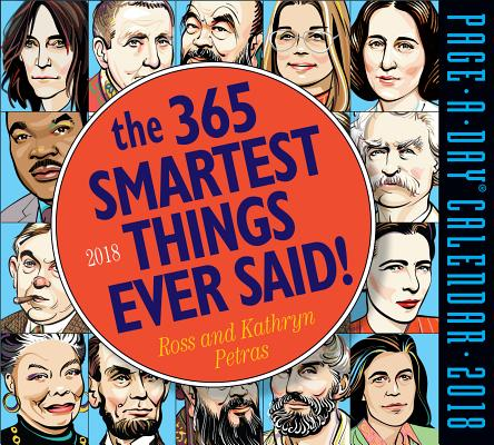The 365 Smartest Things Ever Said! Page-A-Day Calendar 2018 Cover Image