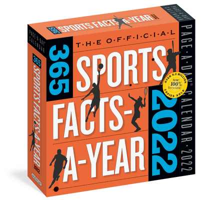 Official 365 Sports Facts-A-Year Page-A-Day Calendar 2022: A Year of Facts, Stats, and Great Moments in Sports History. Cover Image