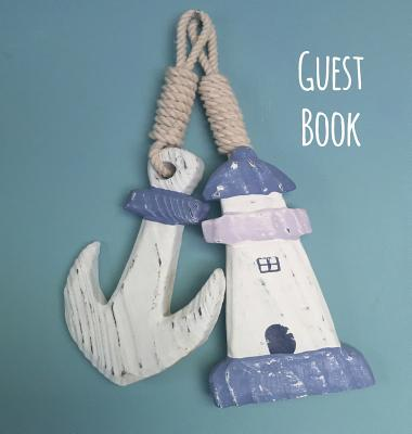 Guest Book, Visitors Book, Guests Comments, Vacation Home Guest Book, Beach House Guest Book, Comments Book, Visitor Book, Nautical Guest Book, Holida Cover Image