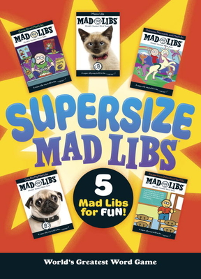 Supersize Mad Libs Cover Image