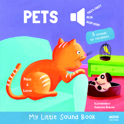 Pets - My Little Sound Book (My Little Sound Books) Cover Image