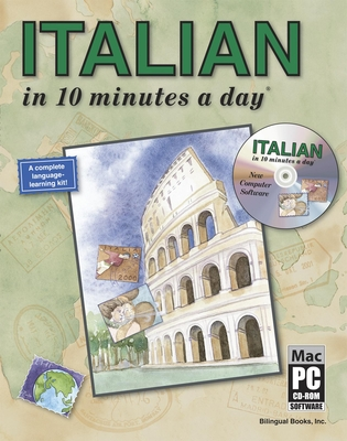 Italian in 10 Minutes a Day with CD-ROM [With CDROM] Cover