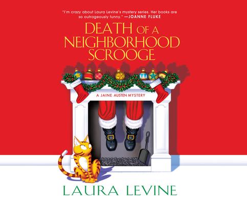 Death of a Neighborhood Scrooge (Jaine Austen Mysteries #16) Cover Image