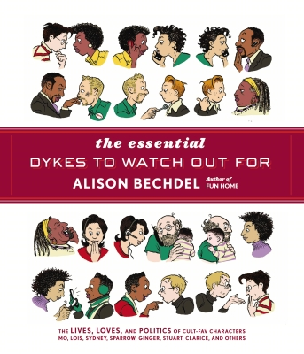The Essential Dykes to Watch Out For. Alison Bechdel Cover Image