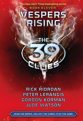 The 39 Clues Book 11: Vespers Rising - Library Edition Cover Image