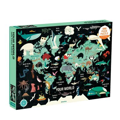 Your World 1000 Piece Family Puzzle Cover Image