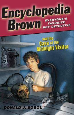 Encyclopedia Brown and the Case of the Midnight Visitor Cover Image