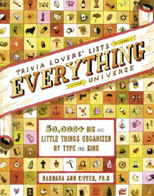 Trivia Lovers' Lists of Nearly Everything in the Universe Cover
