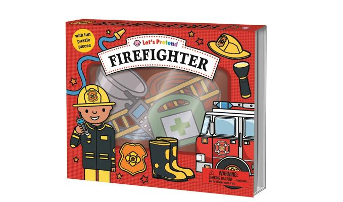 Let's Pretend: Firefighter Set: With Fun Puzzle Pieces Cover Image