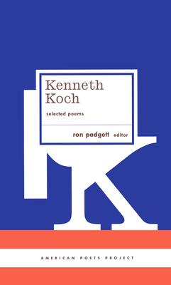 Cover for Kenneth Koch
