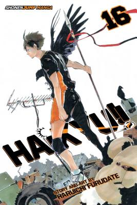 Haikyu!!, Vol. 16: Ex-Quitter's Battle Cover Image