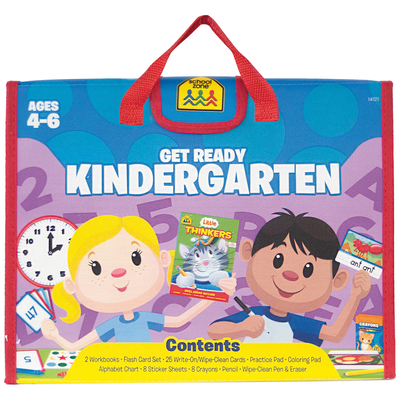 School Zone Get Ready Kindergarten Learning Playset (Activity Pack) Cover Image