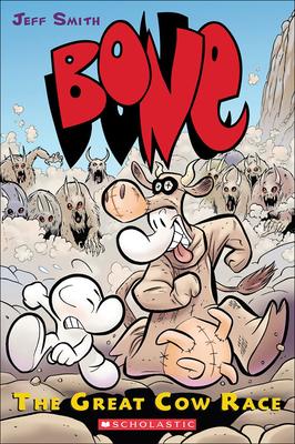 Bone 2: The Great Cow Race (Bone (Prebound) #2) Cover Image