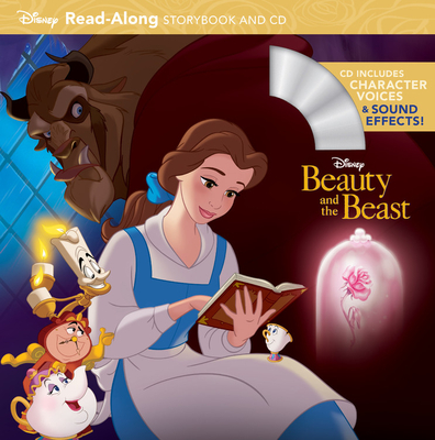 Beauty and the Beast Read-Along Storybook and CD Cover
