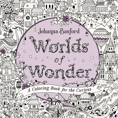 Worlds of Wonder: A Coloring Book for the Curious Cover Image