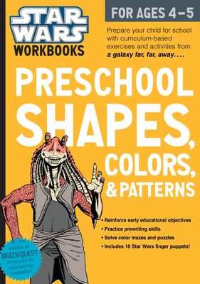 Star Wars Workbook: Preschool Shapes, Colors, and Patterns (Star Wars Workbooks) Cover Image